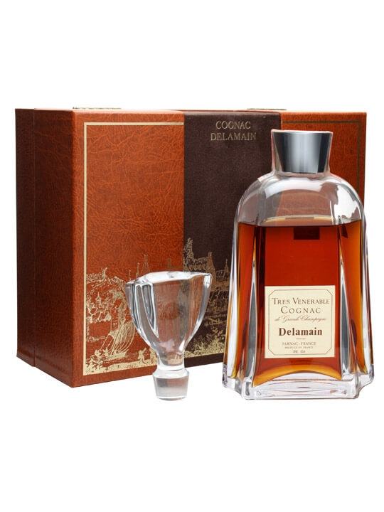 Delamain Tres Venerable Cognac / Daum Crystal / Bot.1980s