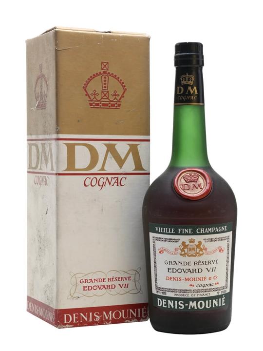 Denis-Mounié Edouard VII Cognac / Grande Reserve / Bot.1970s