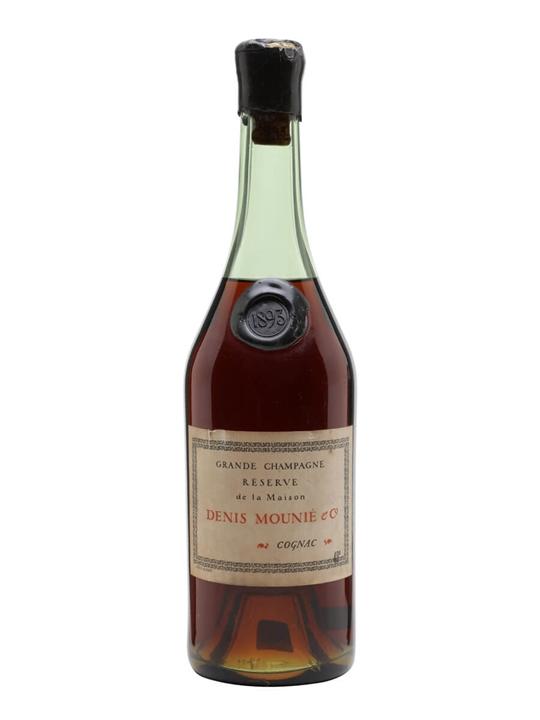 Denis-Mounié 1893 Cognac / Grande Champagne / Bot.1950s