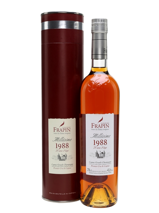 Frapin 1988 Grande Champagne Cognac / 25 Year Old