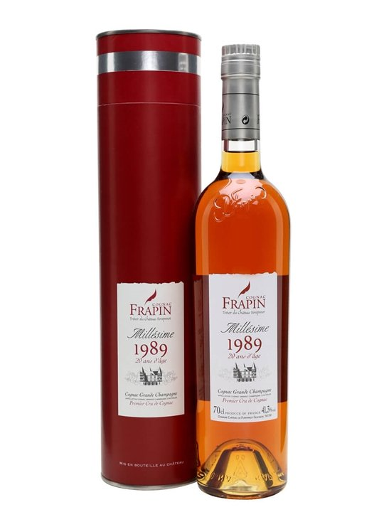 Frapin 1989 Grande Champagne Cognac / 20 Year Old