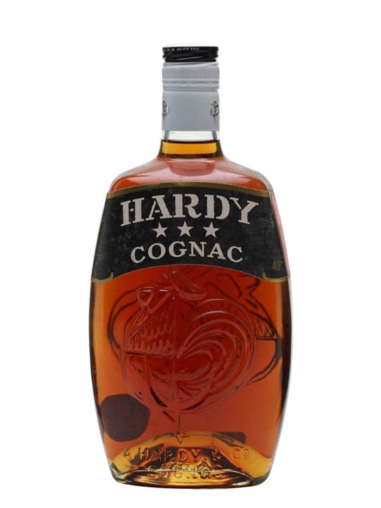 Hardy 3 Stars Cognac / Bot.1970s