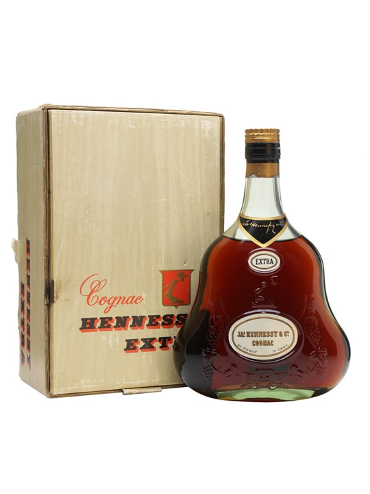 Hennessy Extra Cognac / Bot.1960s