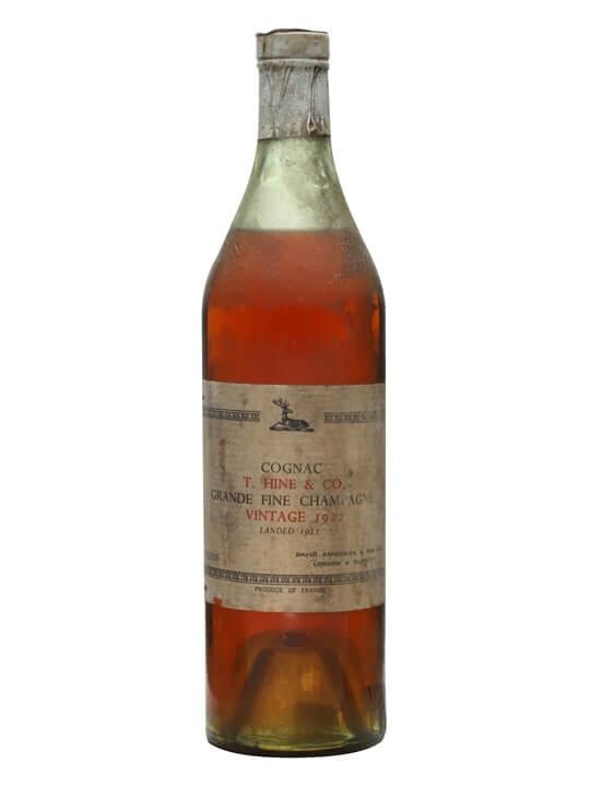 Hine 1922 Cognac / Landed 1923 / Bot.1940s / David Sandeman