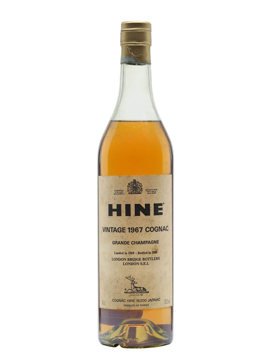 Hine 1967 Grande Champagne Early Landed Cognac