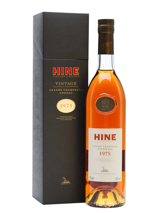 Hine 1975 Grande Champagne Cognac