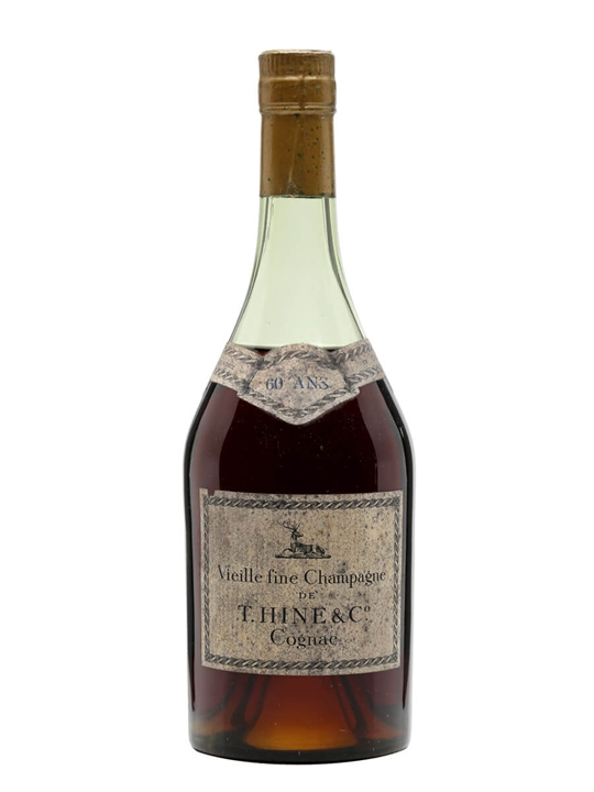 Hine Vieille Fine Champagne Cognac / 60 Year Old / Bot.1960s