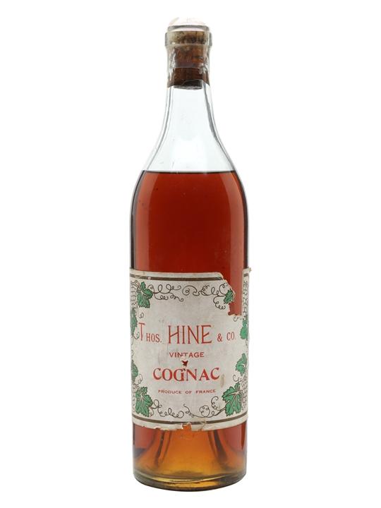 Hine Vintage Cognac / Bot.1940s