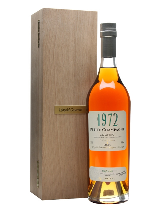 Leopold Gourmel 1972 Petit Champagne Cognac