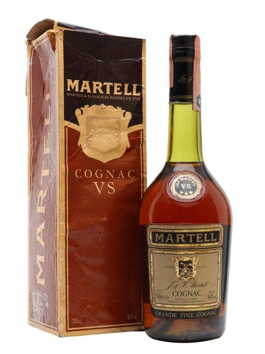 Martell VS 3 Stars Cognac / Bot.1980s