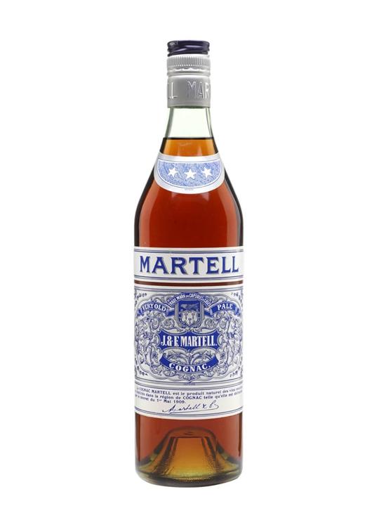 Martell VOP 3 Stars Cognac / Bot.1970s