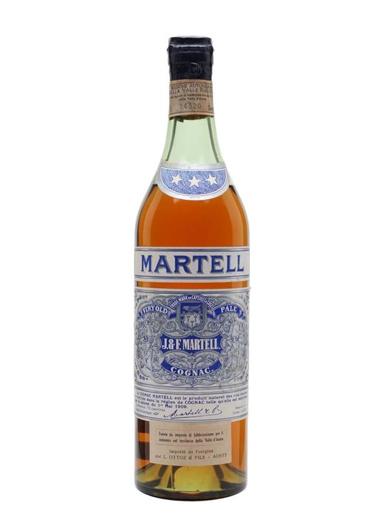 Martell VOP 3 Stars Cognac / Bot.1956 / 240th Anniversary