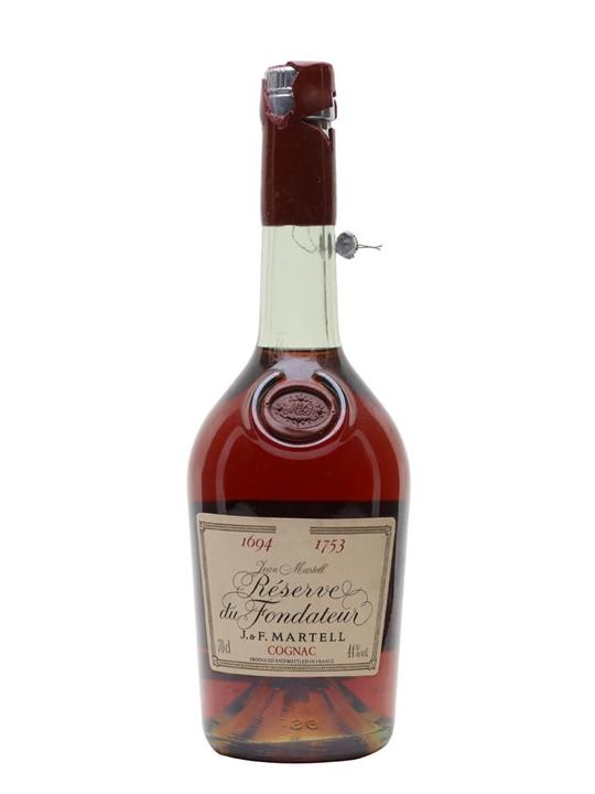 Martell Reserve Du Fondateur Cognac (1694-1753) / Bot.1982