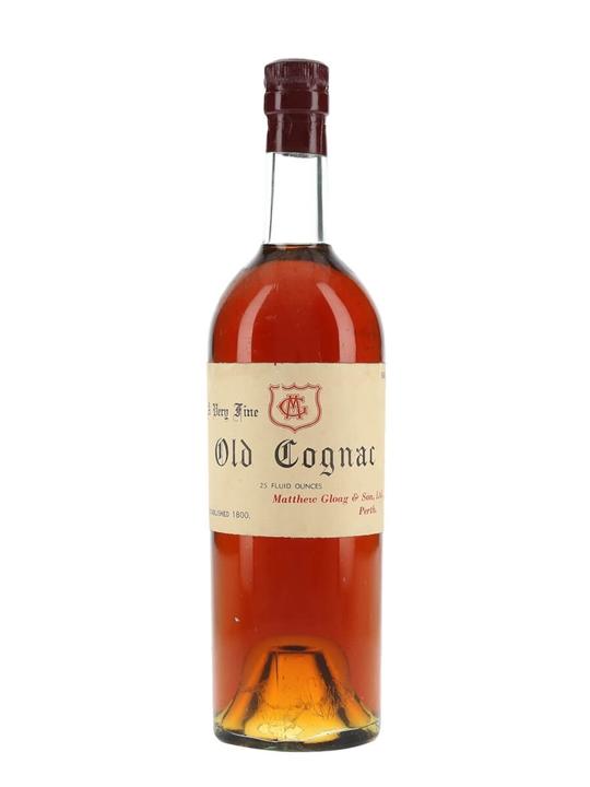 Matthew Gloag Very Fine Old Cognac / Bot.1960s