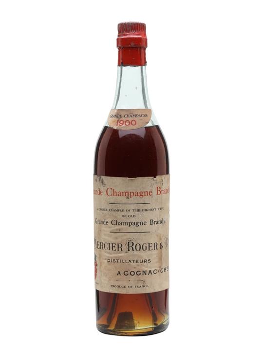 Mercier Roger 1900 Cognac / Grande Champagne / Bot.1940s