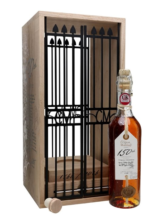 Chateau de Montifaud 150th Anniversary Cognac with Cage