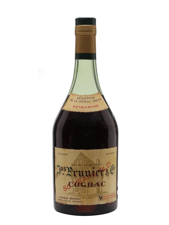 Prunier 50 Year Old Cognac / Patriarche / Bot.1960s