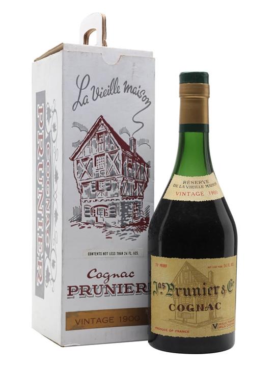 Prunier 1900 Cognac / Reserve de la Vieille Maison / Bot.1960s