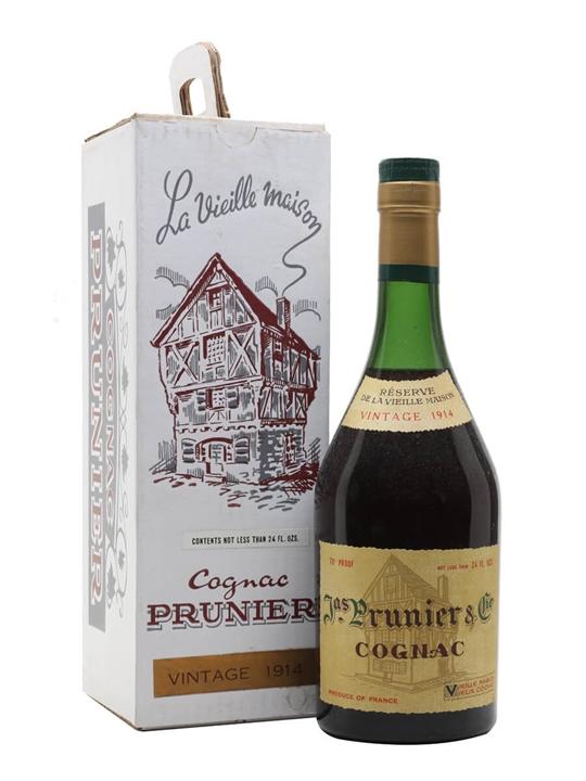 Prunier 1914 Cognac / Reserve de la Vieille Maison / Bot.1960s