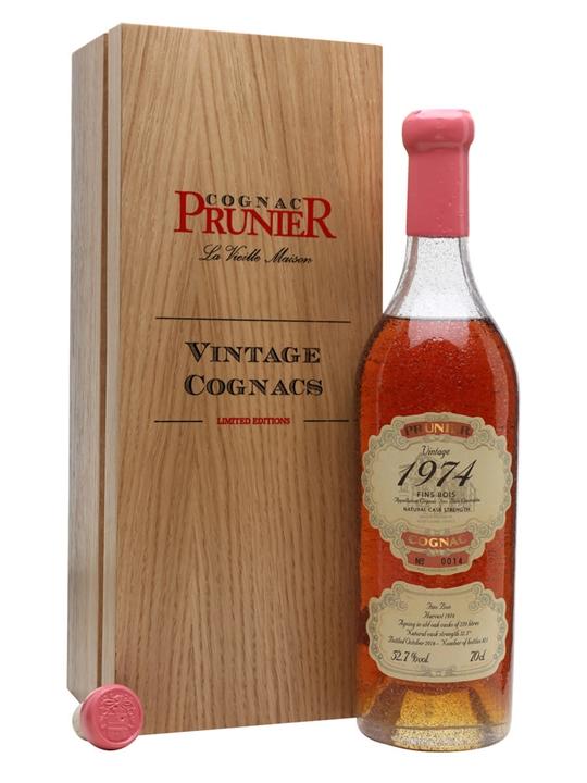 Prunier 1974 Fins Bois Cognac