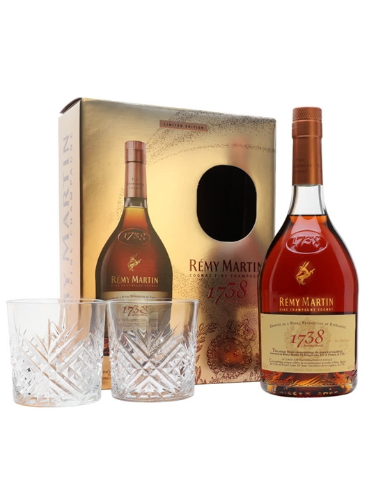 Remy Martin 1738 Accord Royal Cognac / Glass Pack