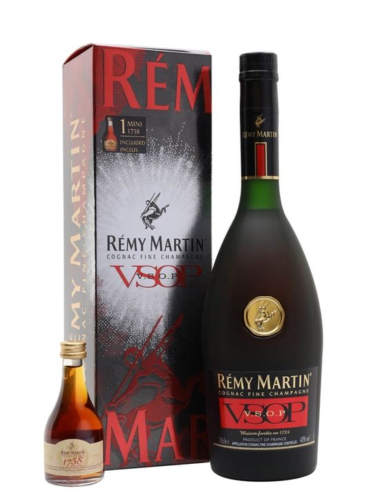 Remy Martin VSOP with 1738 Miniature Gift Pack