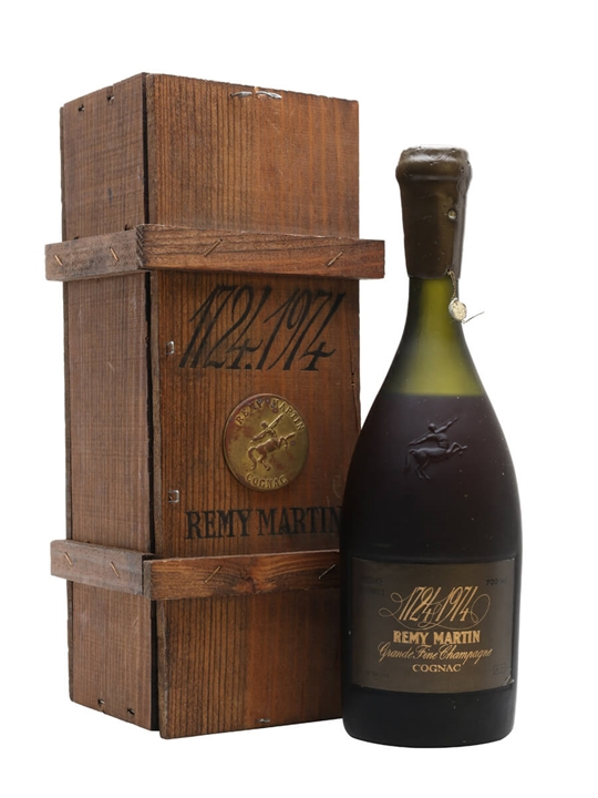 Remy Martin 250th Anniversary (1724-1974) / Bot.1974