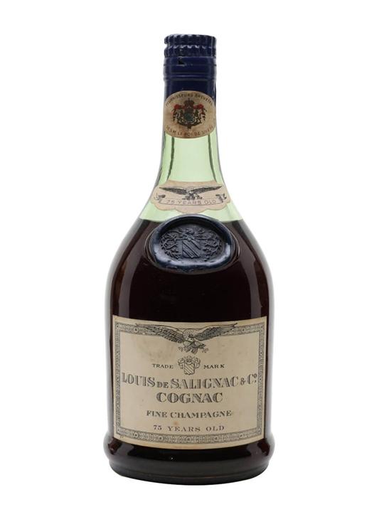 Salignac 75 Year Old Cognac / Fine Champagne / Bot.1960s