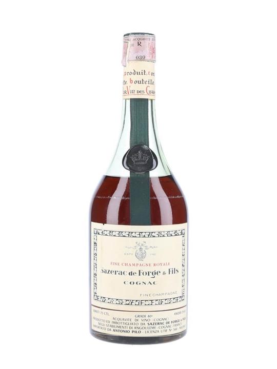 Sazerac de Forge / Fine Champagne Royale / Bot.1950s