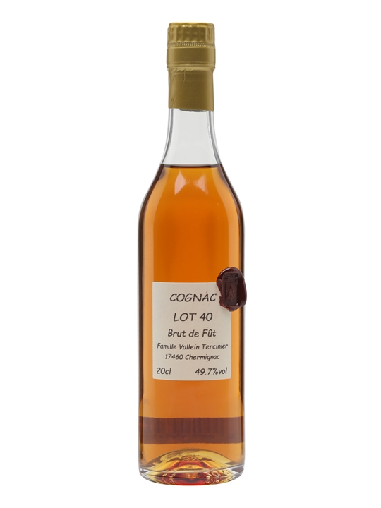 Vallein-Tercinier Lot 40 Hommage Cognac / Small Botle