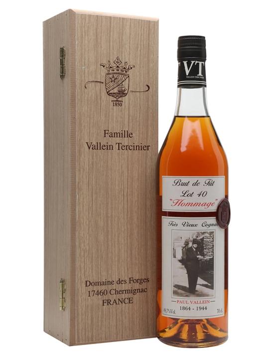 Vallein-Tercinier Lot 40 Hommage Cognac