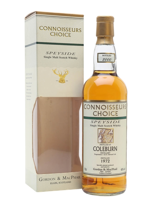 Coleburn 1972 / 27 Year Old / Bot.2000 / Connoisseurs Choice Speyside Whisky