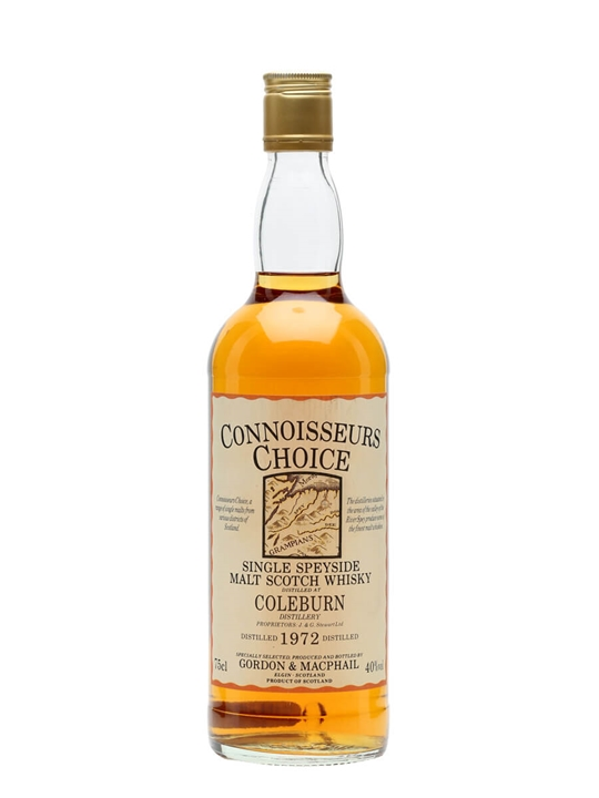 Coleburn 1972 / Bot.1980s / Connoisseurs Choice Speyside Whisky