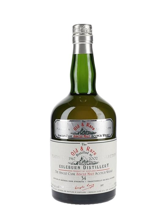 Coleburn 1967 / 34 Year Old / Douglas Laing Speyside Whisky