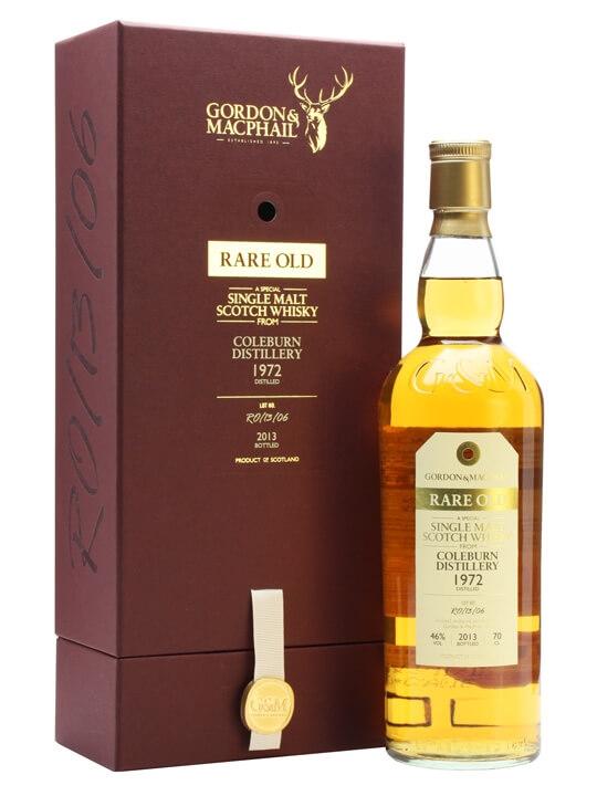 Coleburn 1972 / Rare Old / Gordon & Macphail Speyside Whisky