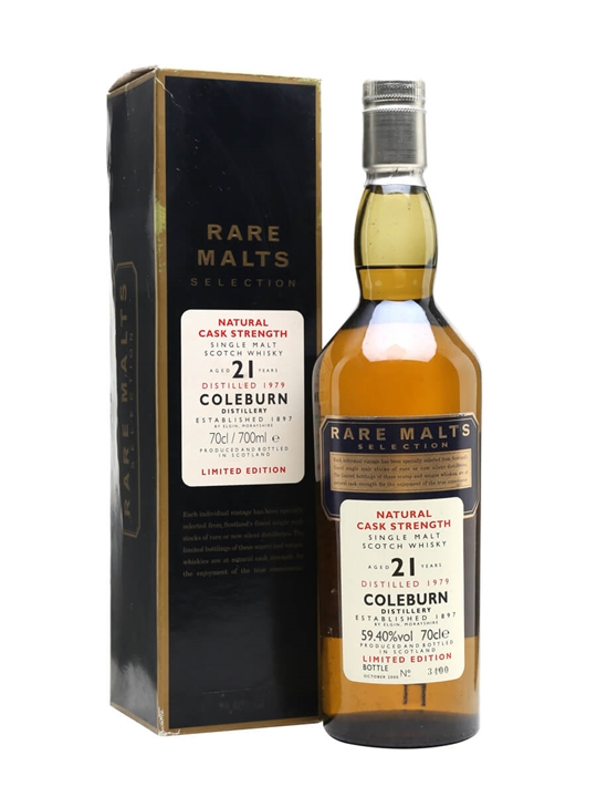 Coleburn 1979 / 21 Year Old / Rare Malts Speyside Whisky
