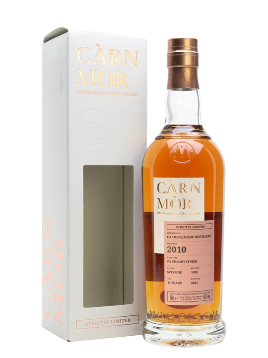 Craigellachie 2010 / 11 Year Old / Carn Mor Speyside Whisky