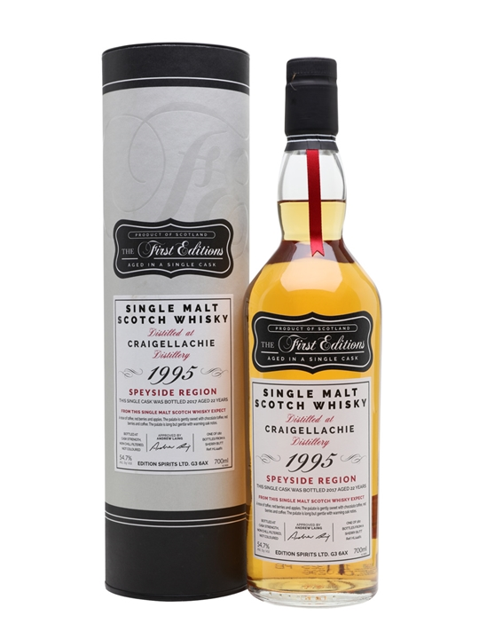 Craigellachie 1995 / 22 Year Old / First Editions Speyside Whisky