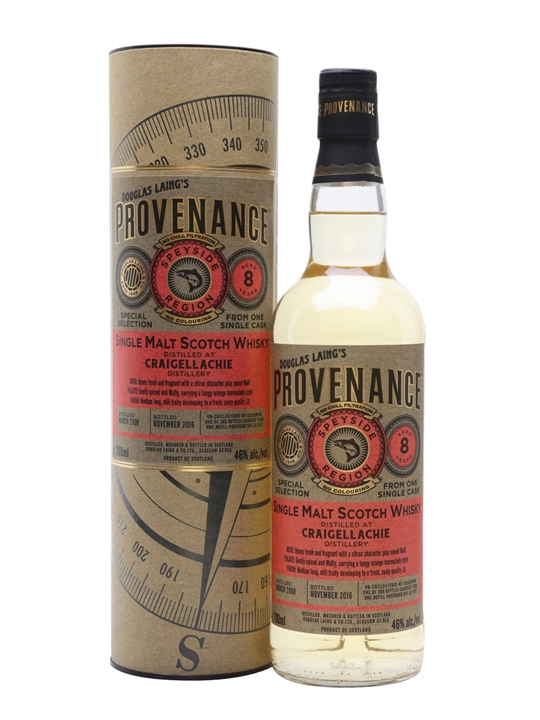 Craigellachie 2008 / 8 Year Old / Provenance Speyside Whisky