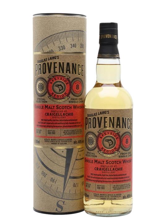 Craigellachie 2011 / 8 Year Old / Provenance Speyside Whisky
