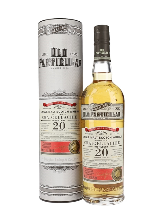 Craigellachie 1999 / 20 Year Old / Old Particular Speyside Whisky