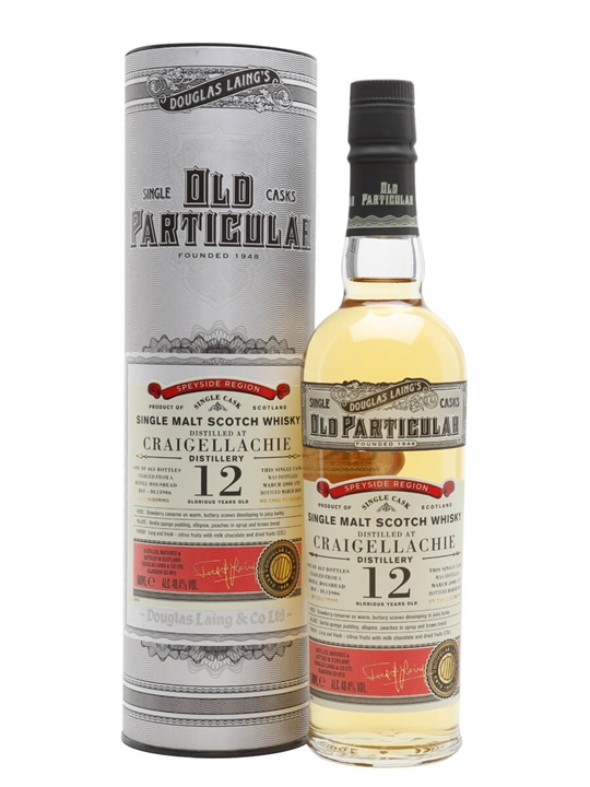 Craigellachie 2008 / 12 Year Old / Old Particular Speyside Whisky