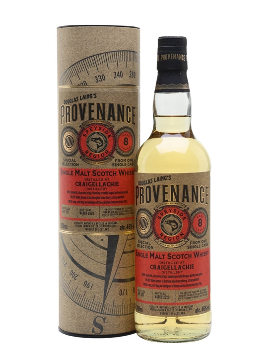 Craigellachie 2011 / 8 Year Old / Provenance Speyside Whisky