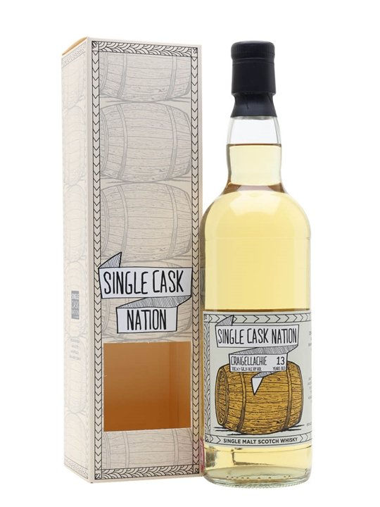 Craigellachie 2005 / 13 Year Old / Single Cask Nation Speyside Whisky