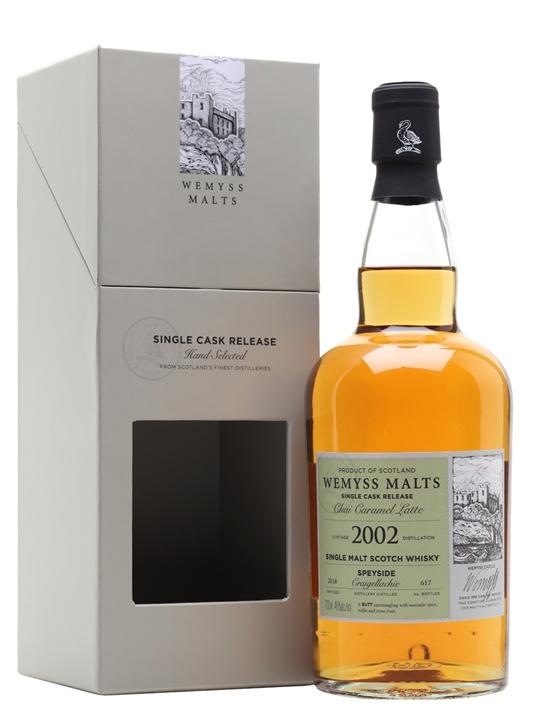 Craigellachie 2002 / Chai Caramel Latte / Wemyss Speyside Whisky