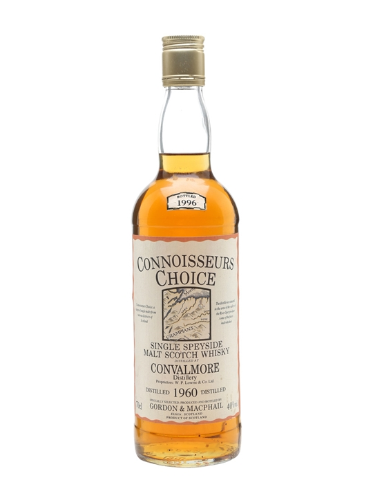 Convalmore 1960 / Connoisseurs Choice Speyside Whisky