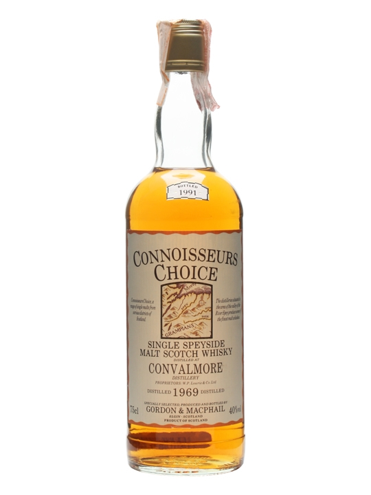Convalmore 1969 / Bot.1991 / Connoisseur's Choice Speyside Whisky