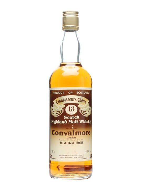 Convalmore 1969 / 13 Year Old Speyside Single Malt Scotch Whisky