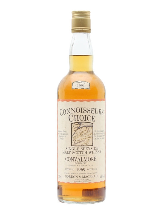 Convalmore 1969 / Bot.1991 / Connoisseurs Choice Speyside Whisky
