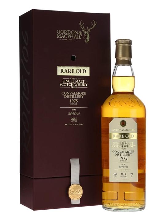 Convalmore 1975 / Bot.2015 / Rare Old / Gordon & Macphail Speyside Whisky